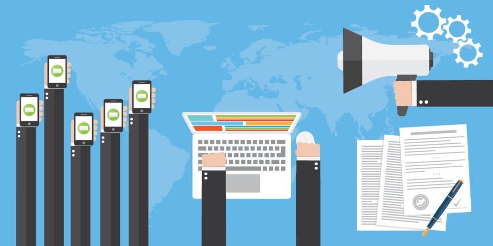 Kampanie content marketingowe wsferze social media