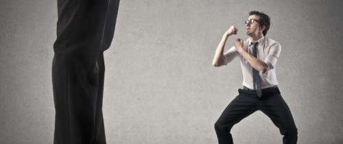 Jak mały może wygrać zdużym czyli walka Dawida zGoliatem?