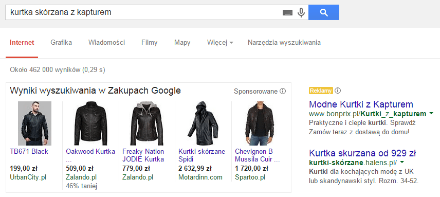 zakupy google