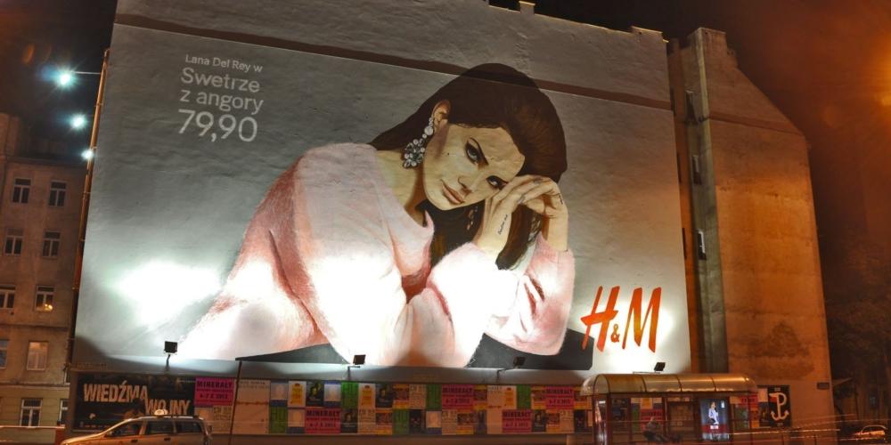 Murale wbranży fashion, czyli jak marka może wykorzystać ręcznie malowaną reklamę