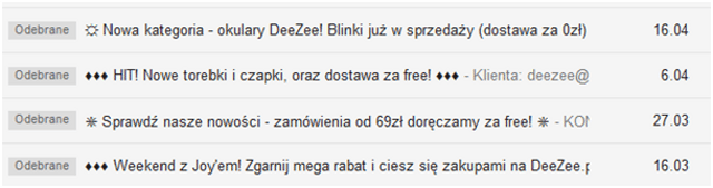 prawne aspekty mailingu