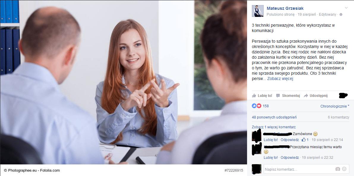 komunikacja social media