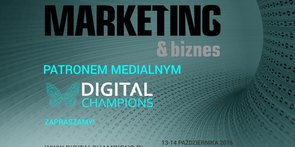 DIGITAL CHAMPIONS 2016 – III Forum Liderów Cyfrowego Biznesu, Warszawa, 13-14 października 2016