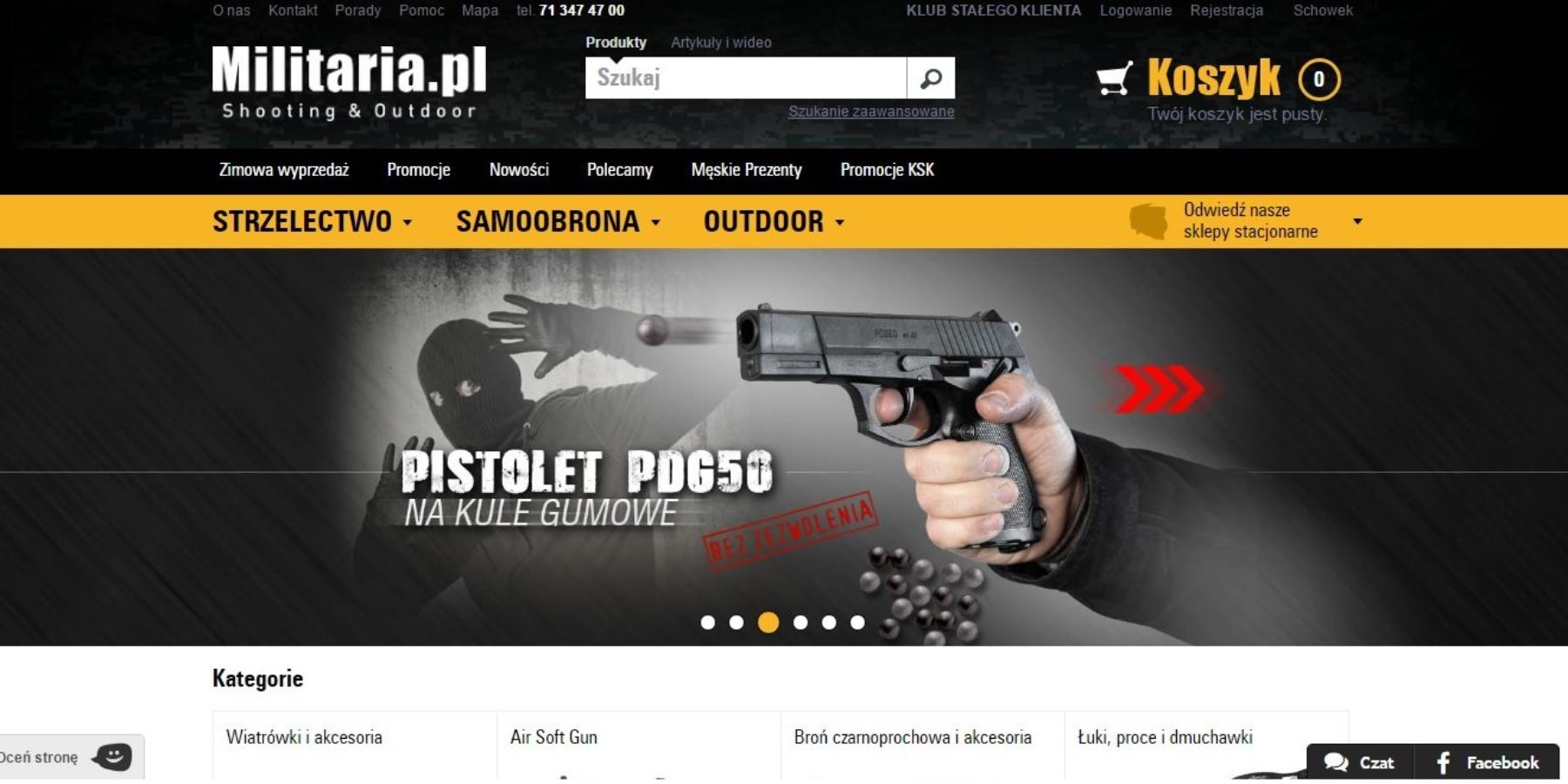 Sukces nacelowniku – historia sklepu Militaria.pl