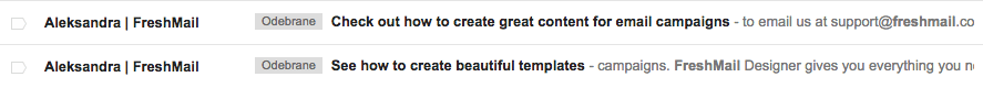 konwersja we-mail marketingu