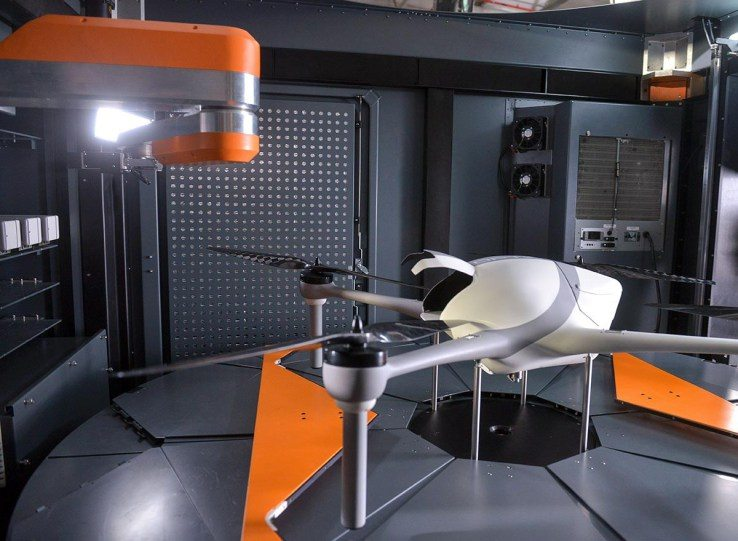 drony - startupy