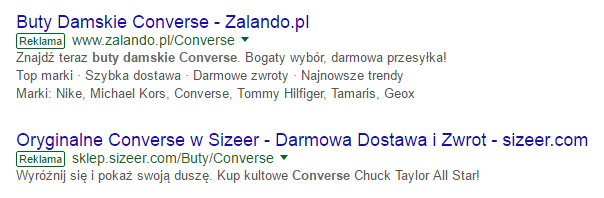 analiza konkurencji adwords