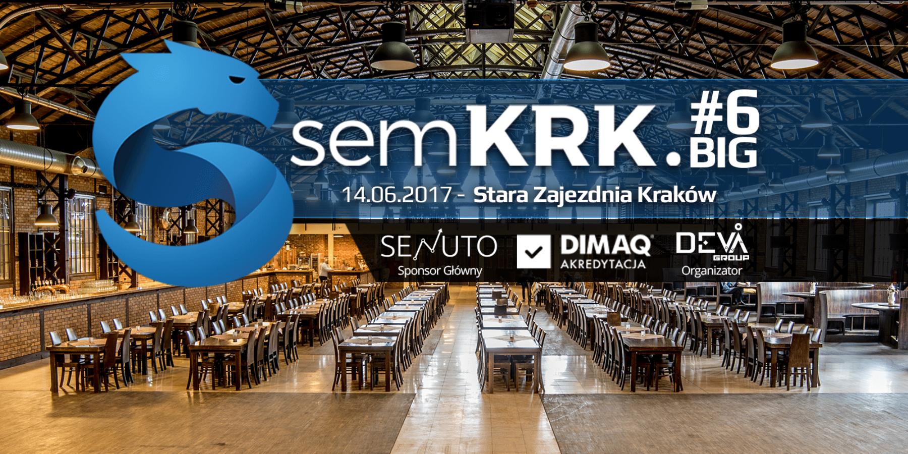 Już 14 czerwca 2017 odbędzie się semKRK!