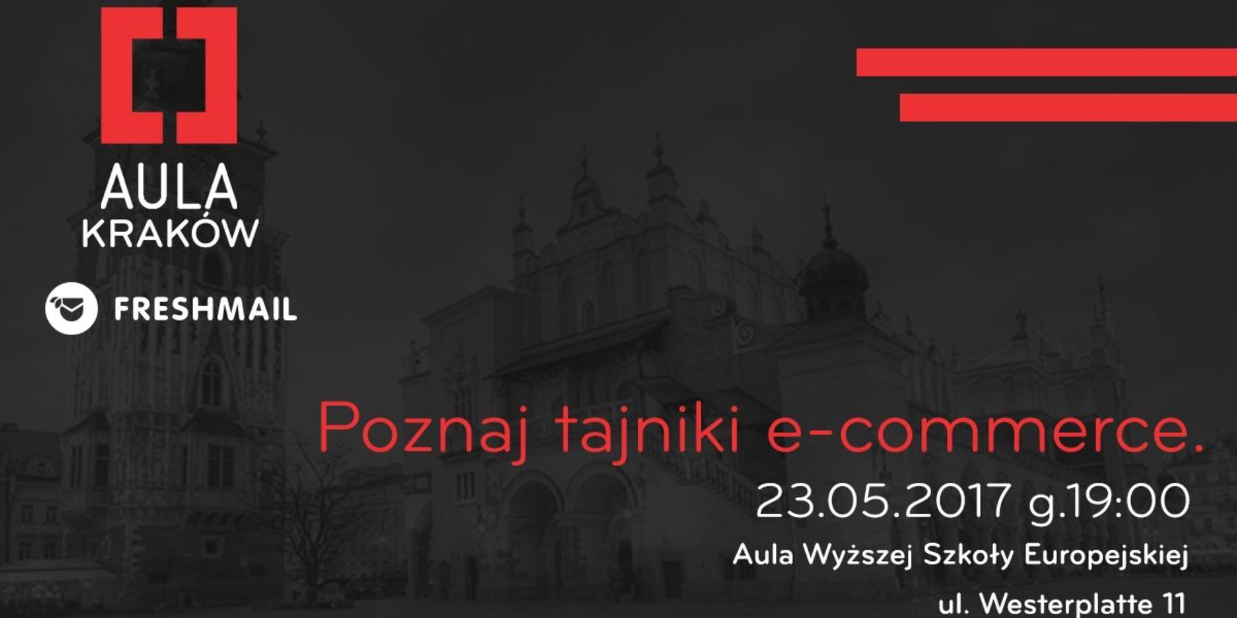 WKrakowie 23 Maja odbędzie się Aula poświęcona e-commerce!