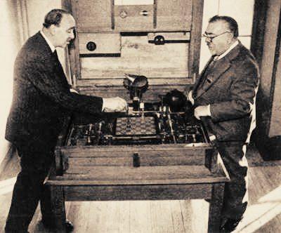 1914 maszyna szachowa- autor nieznany