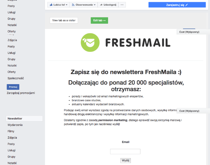 Email marketing dla blogerów