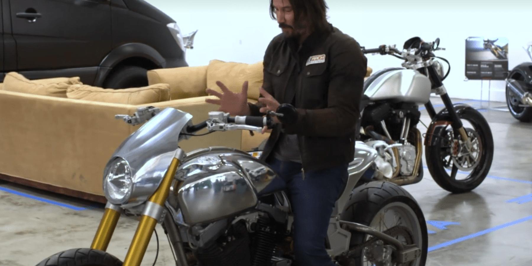 Keanu Reeves zakłada własny biznes. Zamierza sprzedawać motocykle.