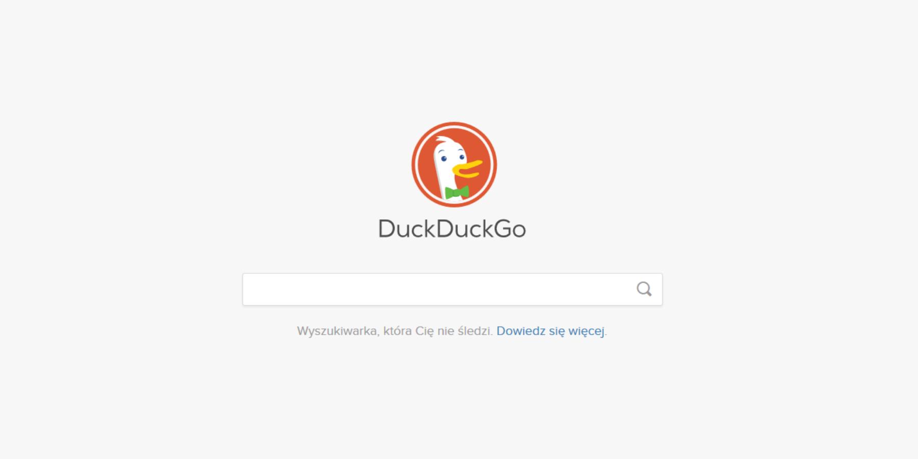 DuckDuckGo, czyli wyszukiwarka, któranieśledzi użytkownika