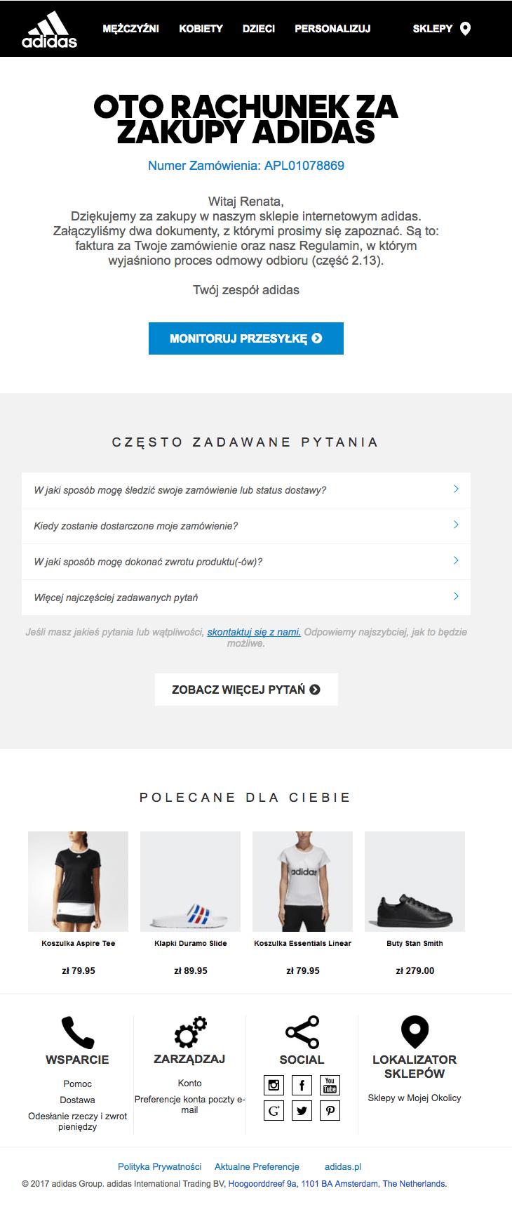 Hurt 100% najwyższej jakości dostać nowe adidas-customer-experience-min | Marketing i Biznes