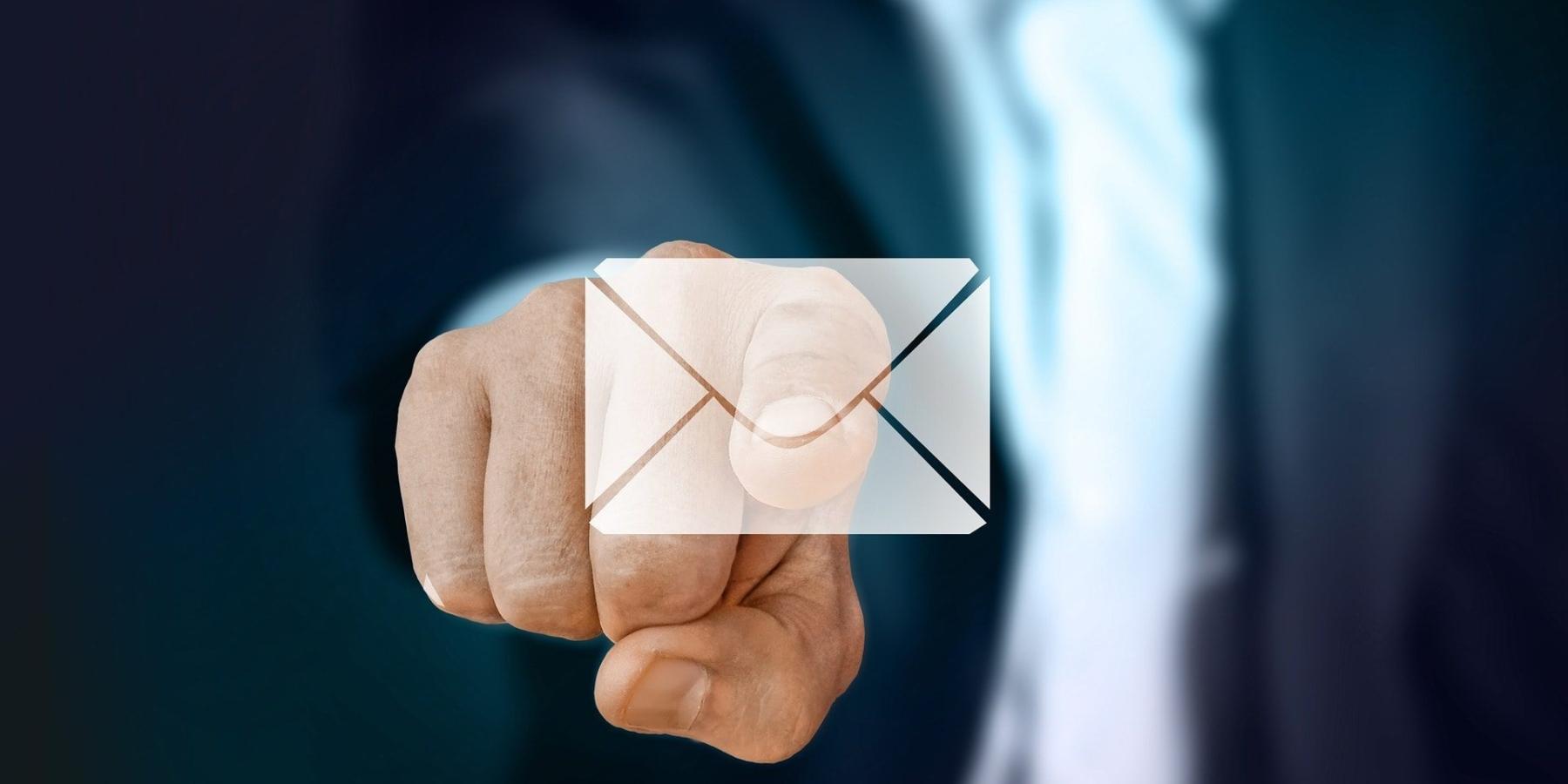 Landing page we-mail marketingu