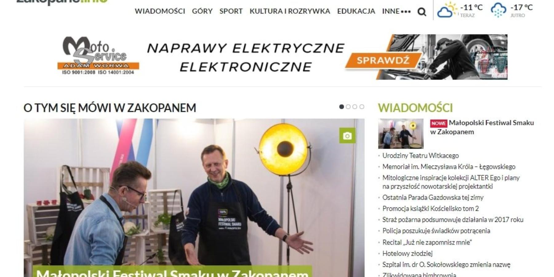 Zakopane.info dołącza dogrupy tuPolska