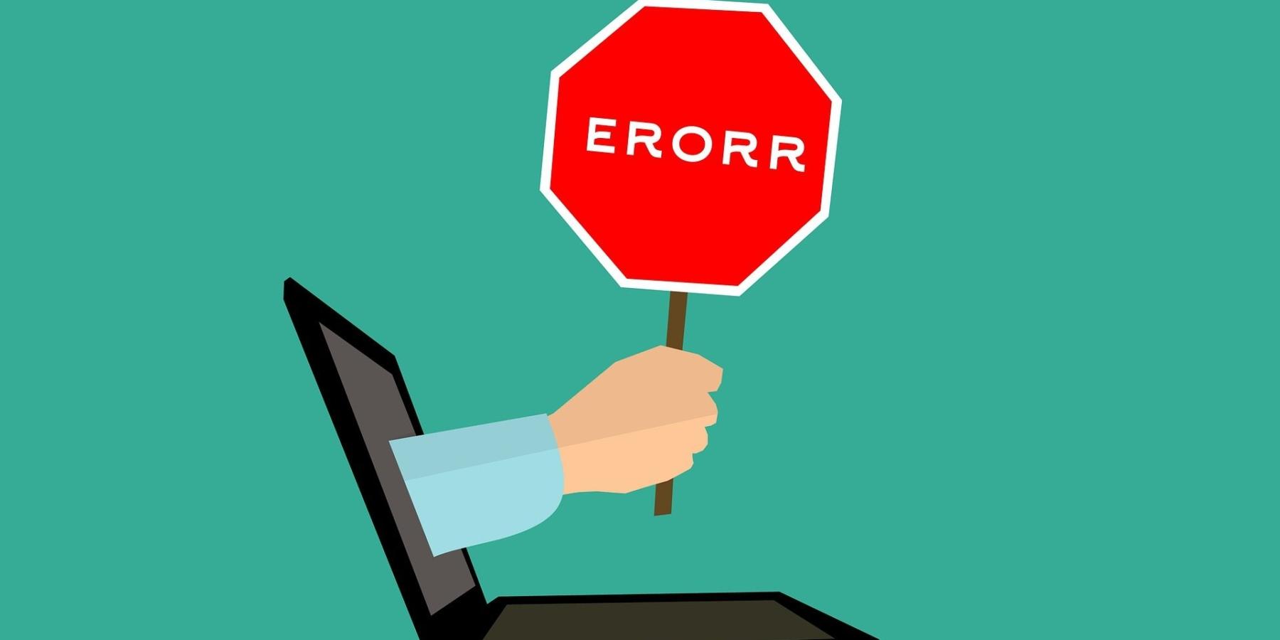 Najczęściej popełniane błędy podczas tworzenia pop-upów