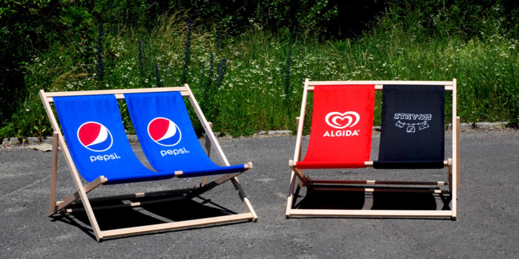 Siedziska reklamowe nakażdą okazję