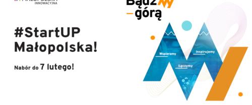 #StartUP Małopolska dla innowacyjnych firm