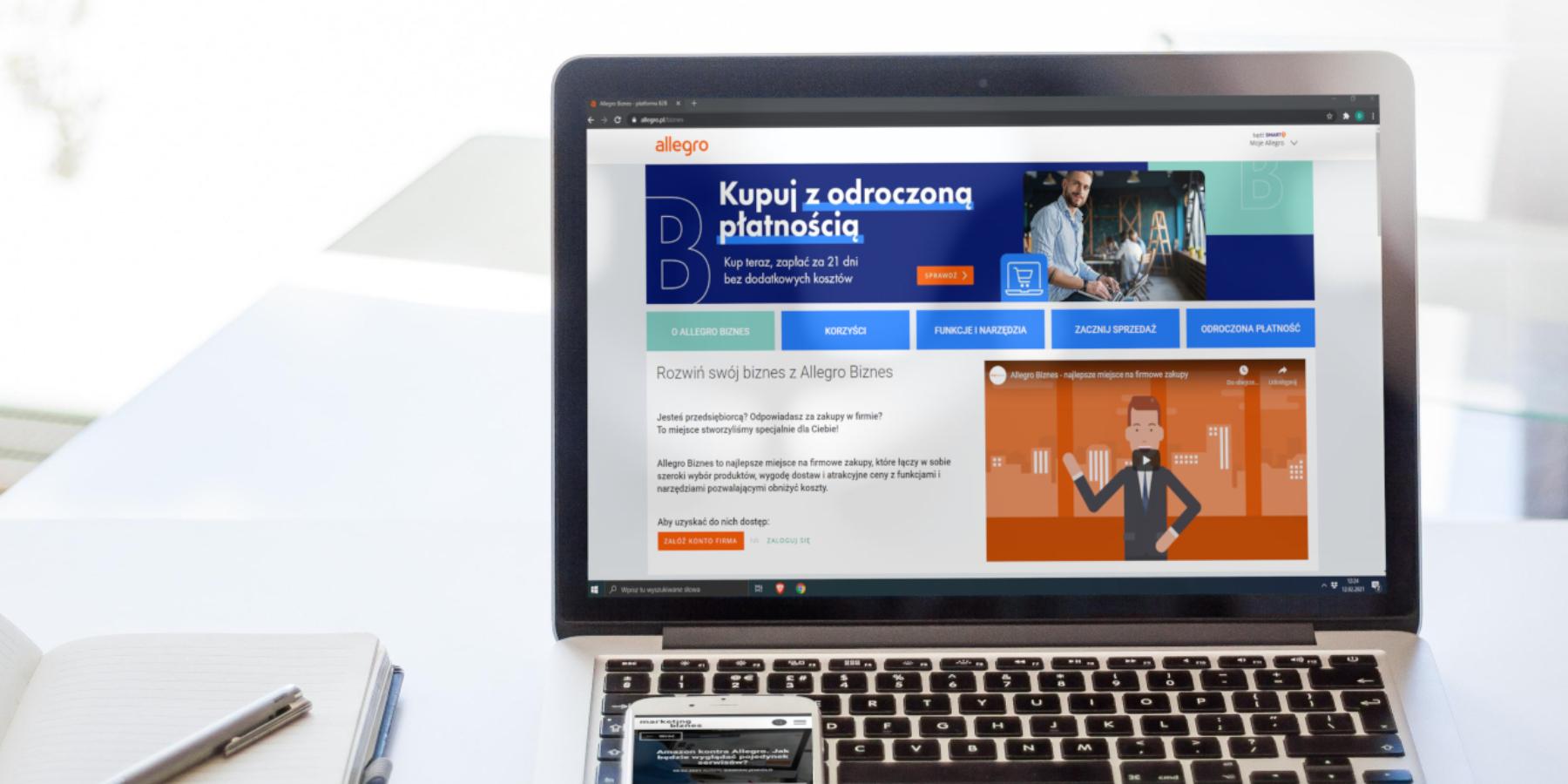 Platforma Allegro Biznes Juz Dziala Zmiany Dla Kupujacych I Sprzedajacych Marketing I Biznes