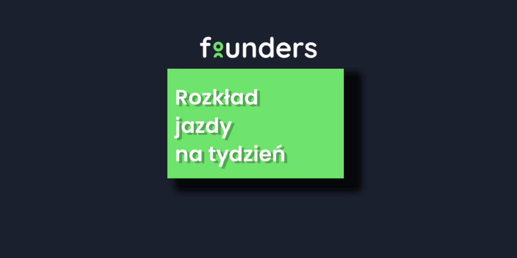 Co nowego naFounders.pl? Sesja poangielsku zMickiem Griffinem