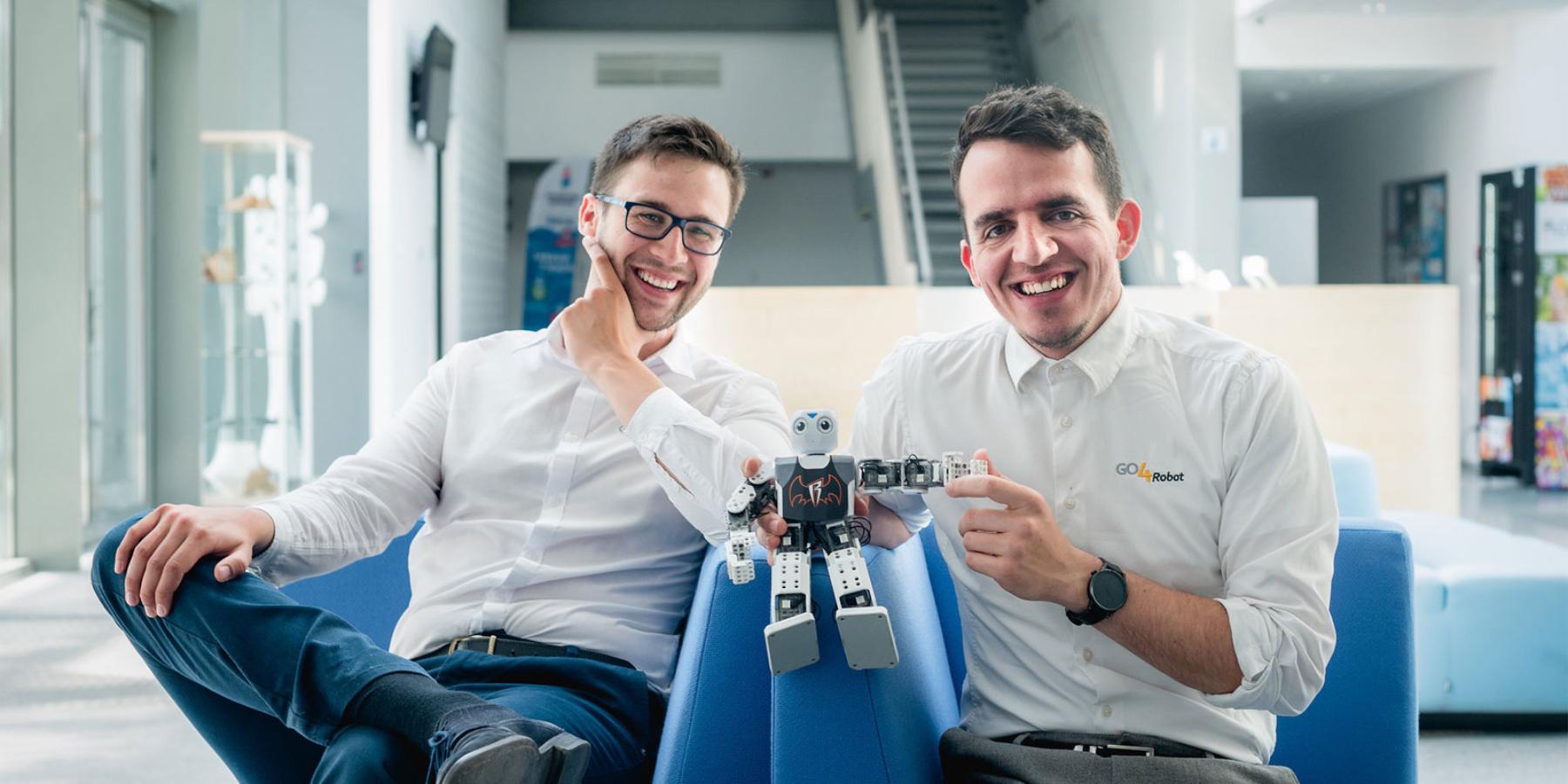 Programowanie dla dzieci przy pomocy robotów zklocków LEGO. GO4Robot był studenckim pomysłem, dziś ma tysiące klientów