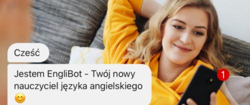 Powstał chatbot donauki angielskiego. Polacy chcą podbić rynek aplikacji donauki języków