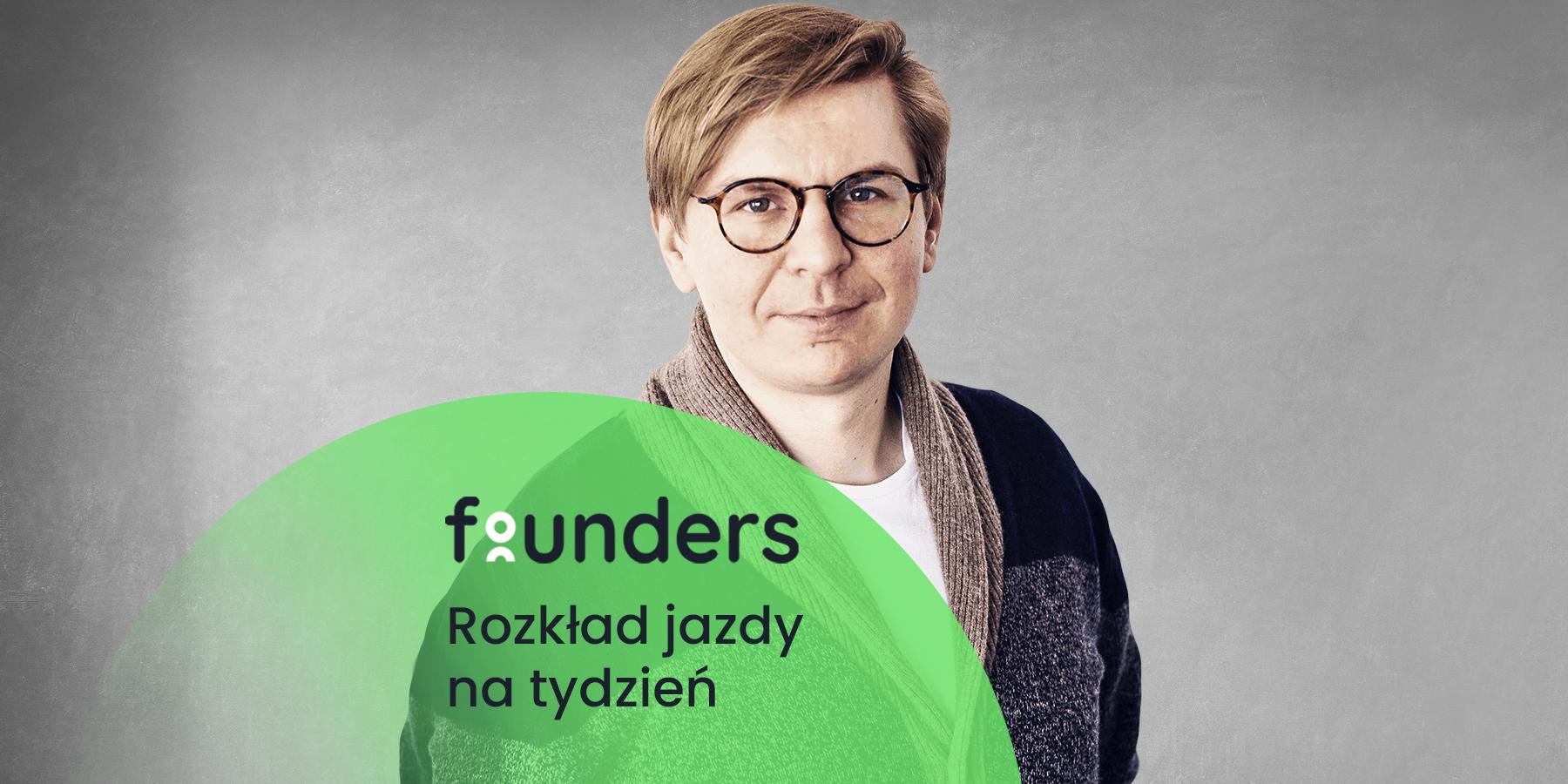 Spotkanie zpsychoterapeutą iostatnia sesja zPiotrem Litwą. Zobacz co nowego naFounders.pl