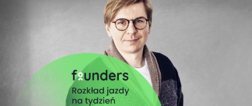 Spotkanie z psychoterapeutą i ostatnia sesja z Piotrem Litwą. Zobacz co nowego na Founders.pl