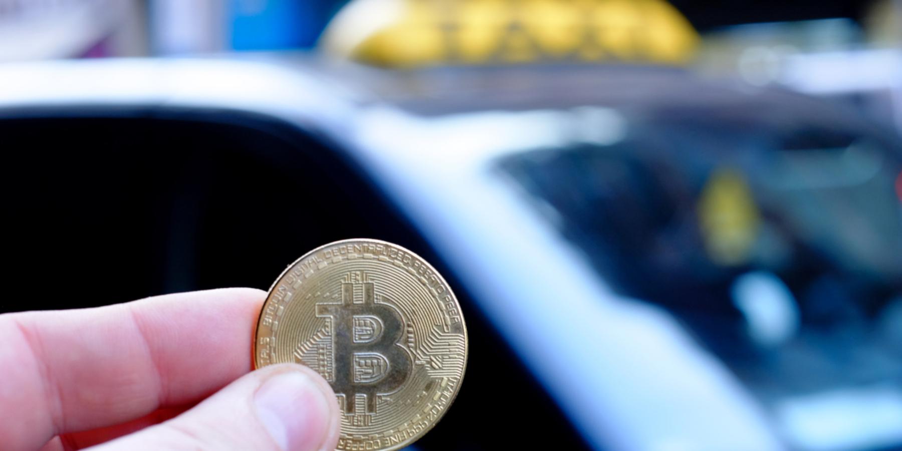 Taksówki będą przyjmować płatności kryptowalutami