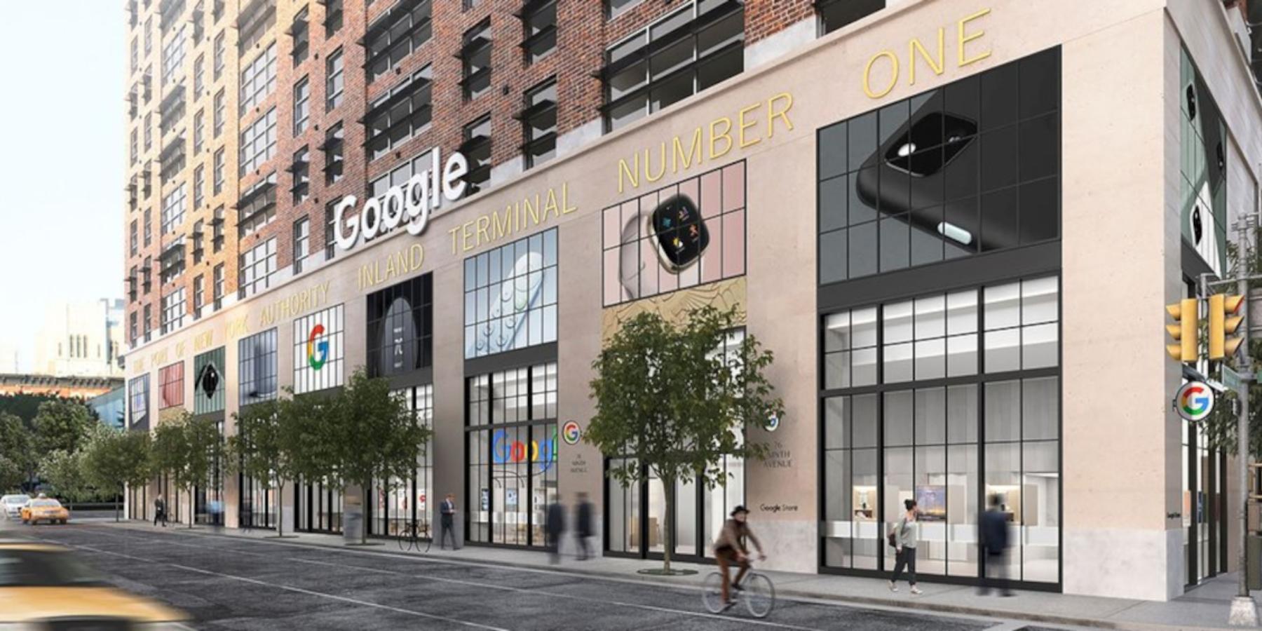 Google otwiera pierwszy sklep stacjonarny. Klienci będą mogli testować produkty iusługi giganta