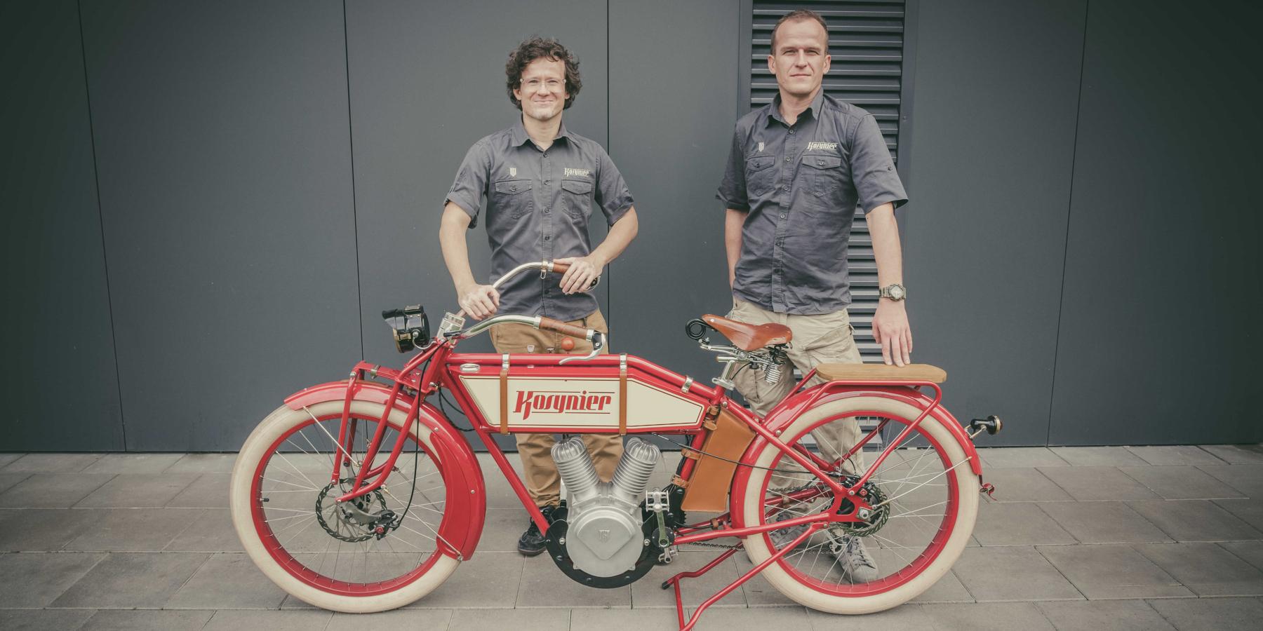 Tworzą unikatowe rowery elektryczne. Pierwsze egzemplarze dostarczą klientom wcałej Europie osobiście