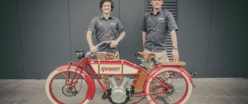 Tworzą unikatowe rowery elektryczne. Pierwsze egzemplarze dostarczą klientom w całej Europie osobiście