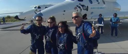Richard Branson poleciał wkosmos, apolska firma podpisała umowę nawydobycie helu zksiężyca. Biznesowa przyszłość kosmosu