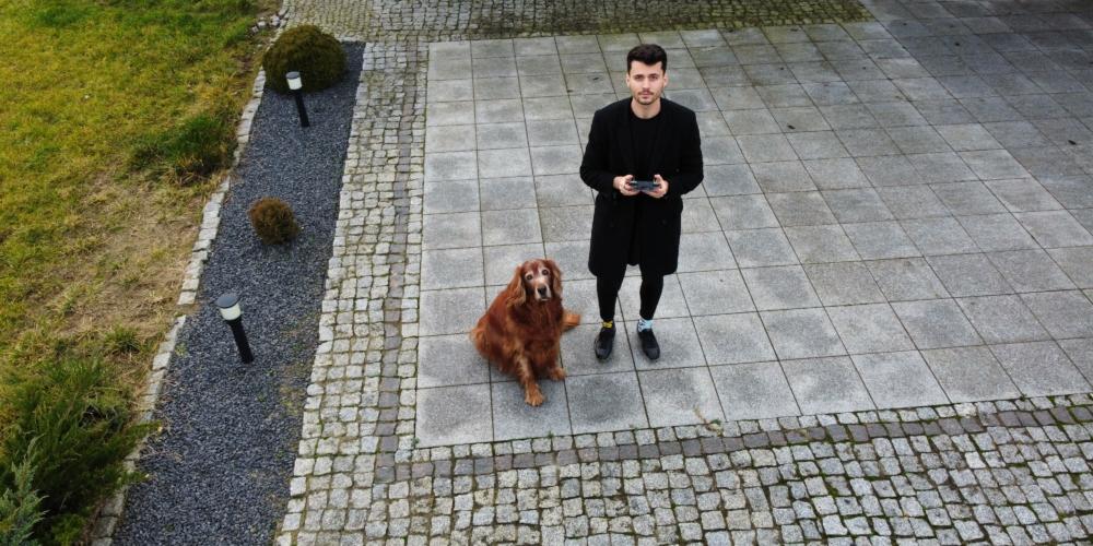 Student weterynarii drukuje w3D protezy dla psów. Właśnie zakłada swój startup
